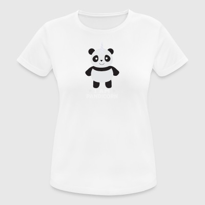 I am at Pandicorn, Panda, unicorn - Women's Breathable T-Shirt