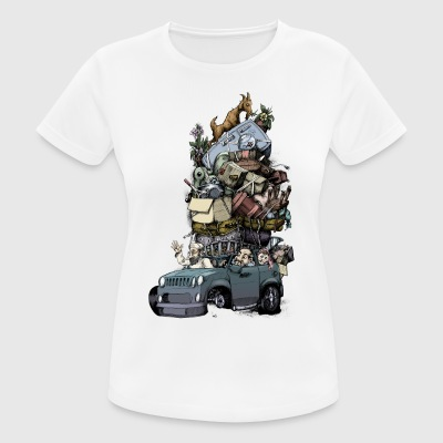 Roadtrip - Frauen T-Shirt atmungsaktiv