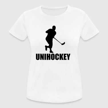Floorball - Frauen T-Shirt atmungsaktiv