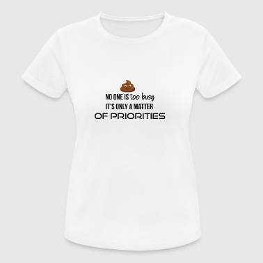 Priorities - Women's Breathable T-Shirt