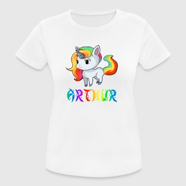 Unicorn Arthur - Women's Breathable T-Shirt