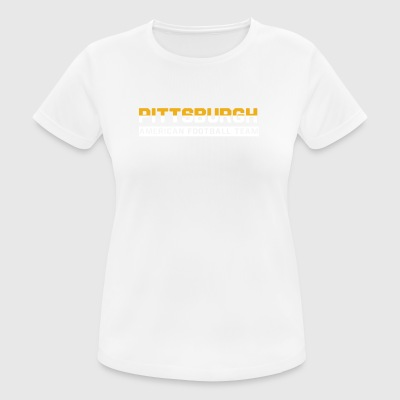 Pittsburgh Football - T-shirt respirant Femme