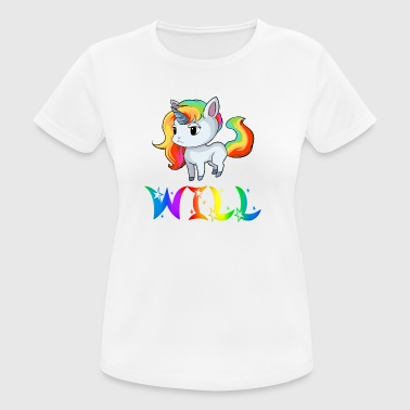 Unicorn Will - Women's Breathable T-Shirt