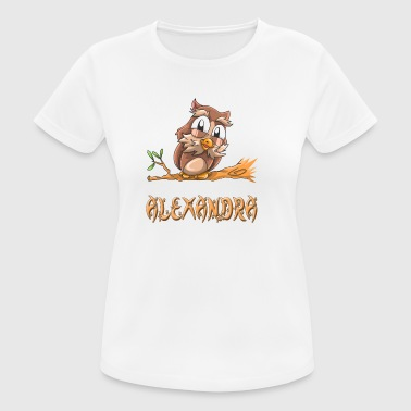 Owl Alexandra - Women's Breathable T-Shirt
