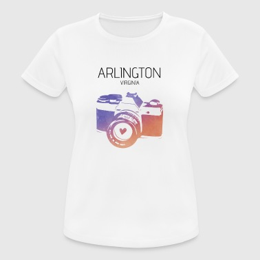 Kamera Arlington Virginia - Frauen T-Shirt atmungsaktiv