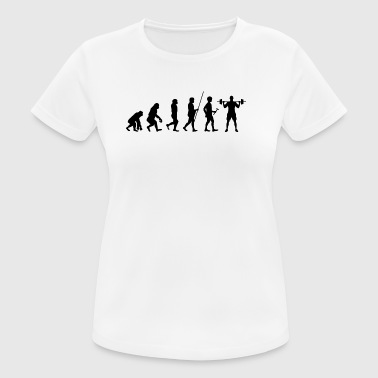Evolution Athlete t-shirt present - Andningsaktiv T-shirt dam