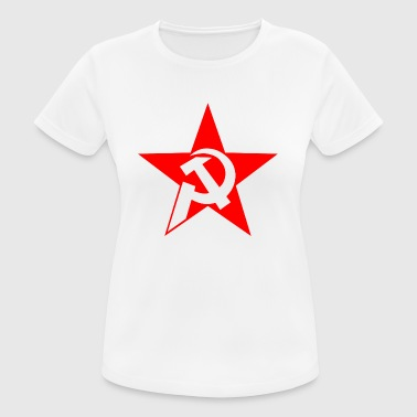 hammer and sickle - Women's Breathable T-Shirt