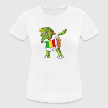 Mali Dabbing turtle - Women's Breathable T-Shirt