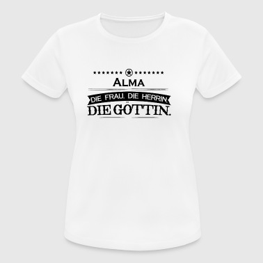 birthday legend goettin alma - Women's Breathable T-Shirt