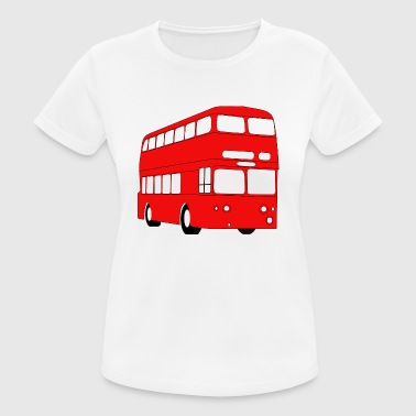 Double Decker Red Bus - Women's Breathable T-Shirt