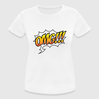 2541614 14952109 omg - Women's Breathable T-Shirt