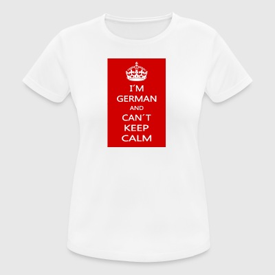 KEEP CALM - Dame T-shirt svedtransporterende
