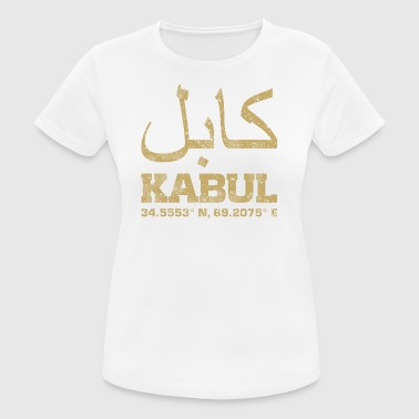 Kabul Afghanistan coordinates T-Shirt - Women's Breathable T-Shirt