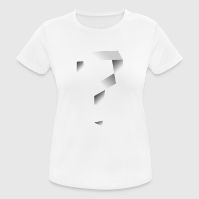 Twisted Question Mark - T-shirt respirant Femme