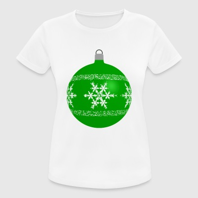 Christbaumkugel - Frauen T-Shirt atmungsaktiv