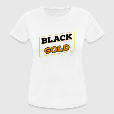 Pittsburgh Black Gold Football - T-shirt respirant Femme