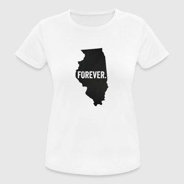 Forever Illinois - Women's Breathable T-Shirt