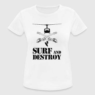 SURF AND DESTROY 2 - Camiseta mujer transpirable