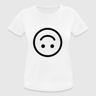 glad smiley glade - Dame T-shirt svedtransporterende
