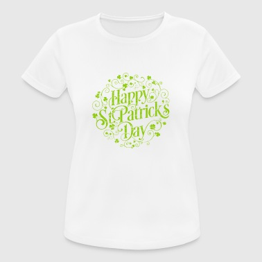 Happy St. Patrick's Day T Shirt Vintage Gift - Women's Breathable T-Shirt