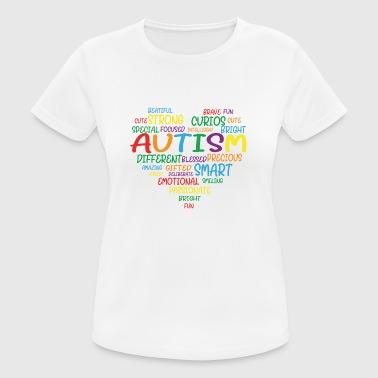 Autism Autism Awareness Day - vrouwen T-shirt ademend