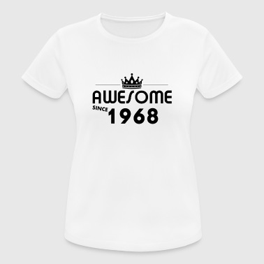 Gift for 50 year old 1968 - Women's Breathable T-Shirt