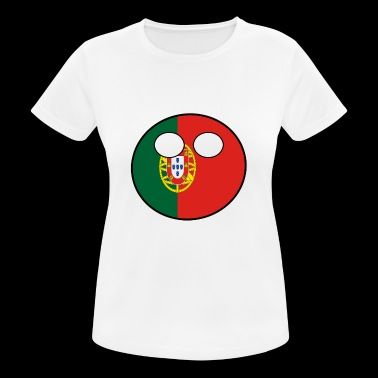 Countryball Country Homeland Portugal - Women's Breathable T-Shirt