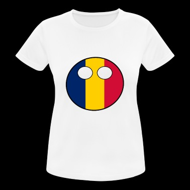 Countryball Country Homeland Chad - Women's Breathable T-Shirt