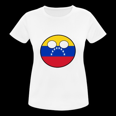 Countryball Country Homeland Venezuela - Women's Breathable T-Shirt