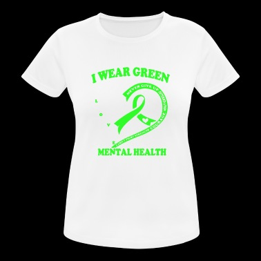 Mental Health Awareness T Shirt - Women's Breathable T-Shirt