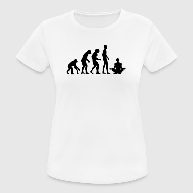 Human Evolution Yoga - Andningsaktiv T-shirt dam