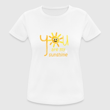 You are my Sunshine - Partnerlook Shirt 009 - Women's Breathable T-Shirt