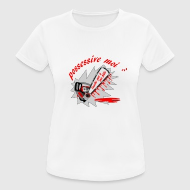 possessive t shirt me ... do not touch my daughter - Women's Breathable T-Shirt