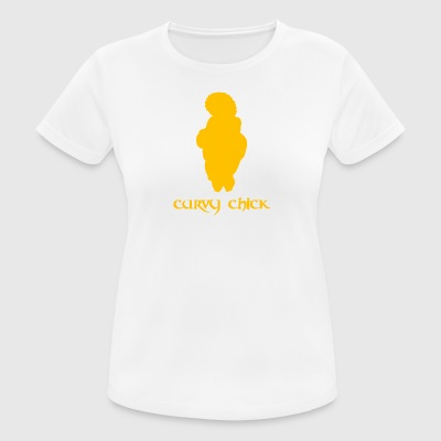 Ancient Curvy Chick - vrouwen T-shirt ademend