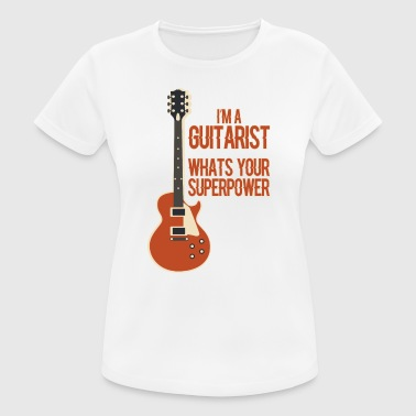 Awesome GUITARIST - Musik - Frauen T-Shirt atmungsaktiv