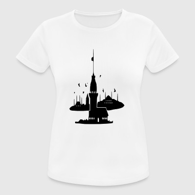 Istanbul - vrouwen T-shirt ademend