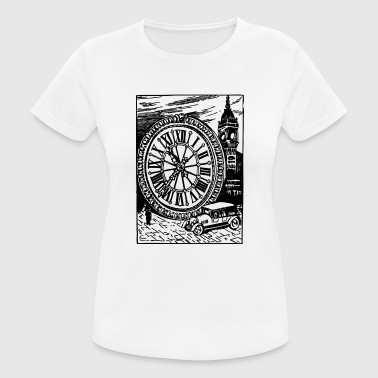 London UK Vintage - Andningsaktiv T-shirt dam