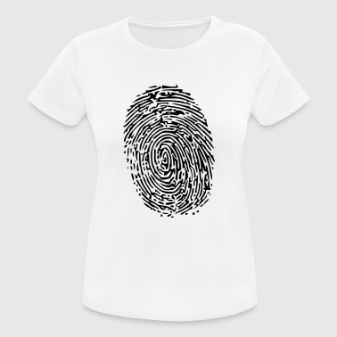 fingerprint - Women's Breathable T-Shirt