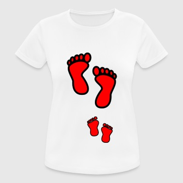 footsteps - Women's Breathable T-Shirt