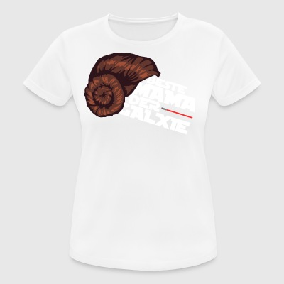 Best mummy of the galaxy - Women's Breathable T-Shirt