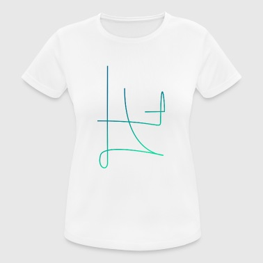 Minimal Line - Women's Breathable T-Shirt
