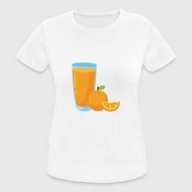 Orange Juice Orange Juice - Dame T-shirt svedtransporterende