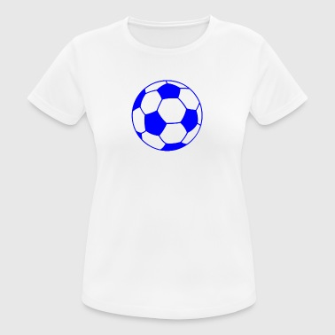 Blue football - Women's Breathable T-Shirt