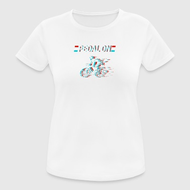 Be a Biker - Pedal On - Women's Breathable T-Shirt