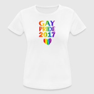 Gay pride 2017 - Women's Breathable T-Shirt