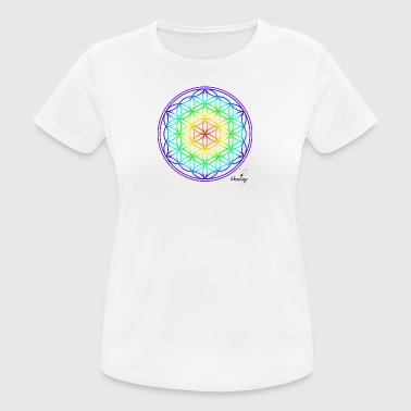 Lifebloom colores completos - Camiseta mujer transpirable