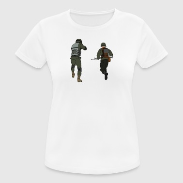 soldiers - Women's Breathable T-Shirt