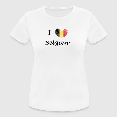 I love Belgium - Women's Breathable T-Shirt