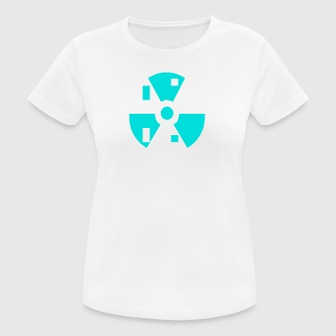 Radioactive atoms - Women's Breathable T-Shirt