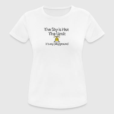 The sky is not the limit - Women's Breathable T-Shirt
